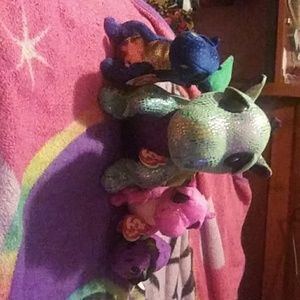 Beanie boo dragon collection